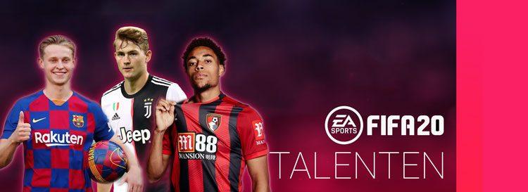 fifa 20 talenten centrale verdedigers